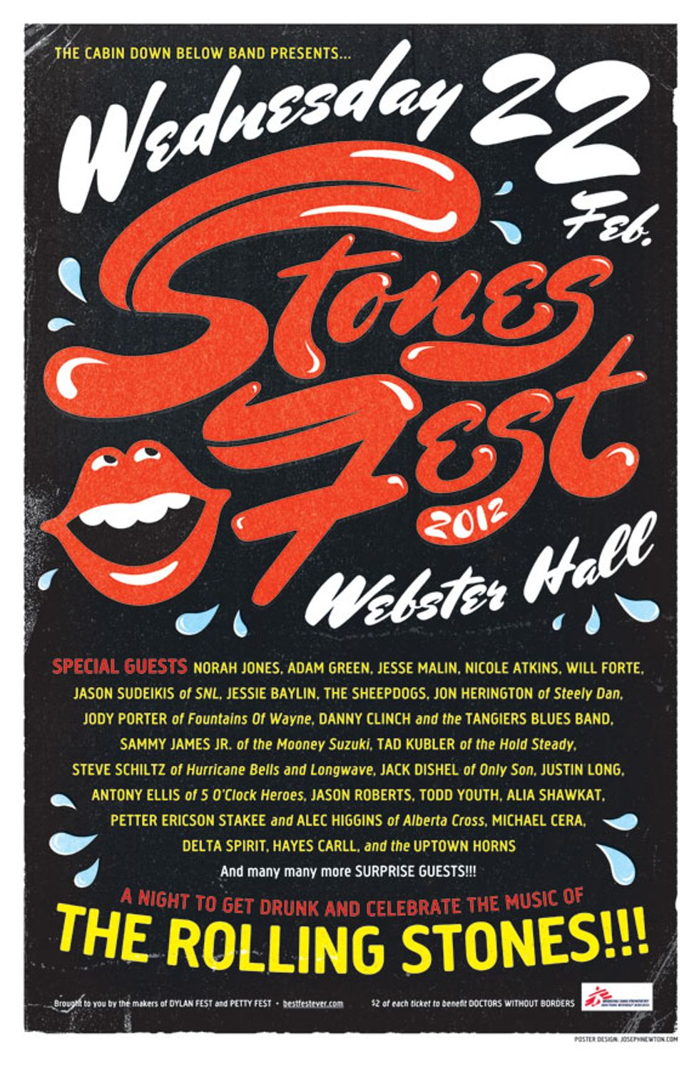 Tips for Today: Stones Fest 2012 + DJ Spooky + The Hairs