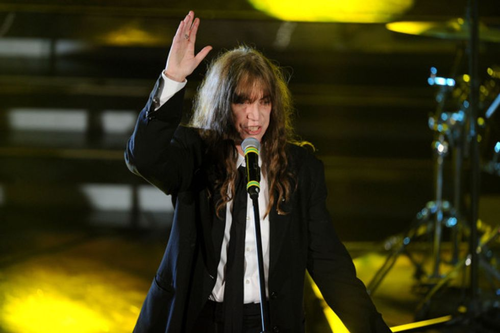 Tips for Today: Patti Smith + Amy Ray + Brisket King of NYC