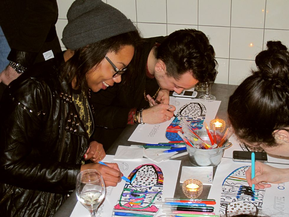 Cobrasnake + Colette Have a Paris Fashion Week Party for their Delicious Vans Collab