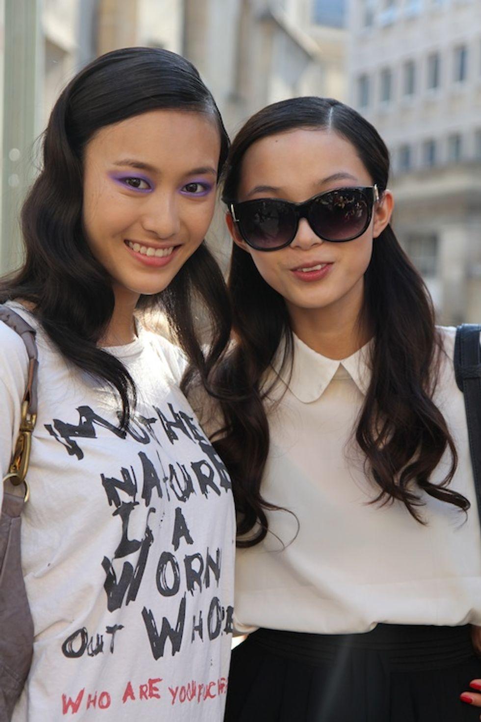 Bonjour, Girl! Street Style from Paris Fashion Week