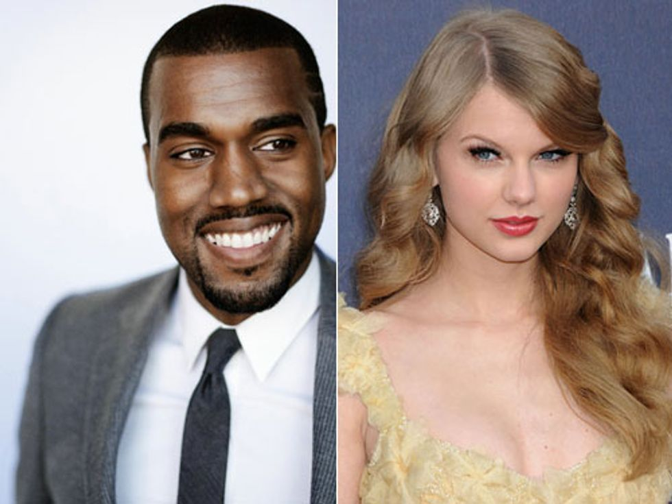 Eight Items Or Less: Taylor Swift and Kanye High-Five, Rihanna Thinks You're a C-Word