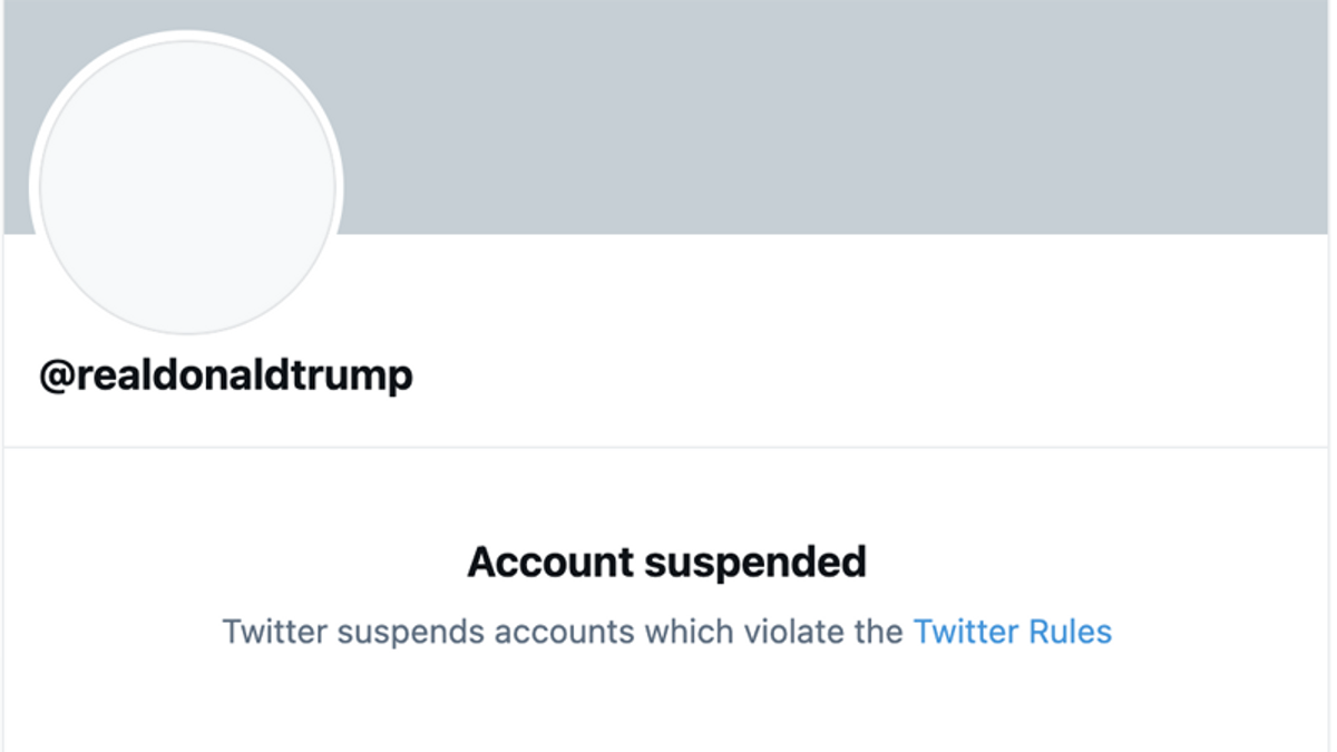 Trump permanently suspended from Twitter — 'due to the risk of further incitement of violence'