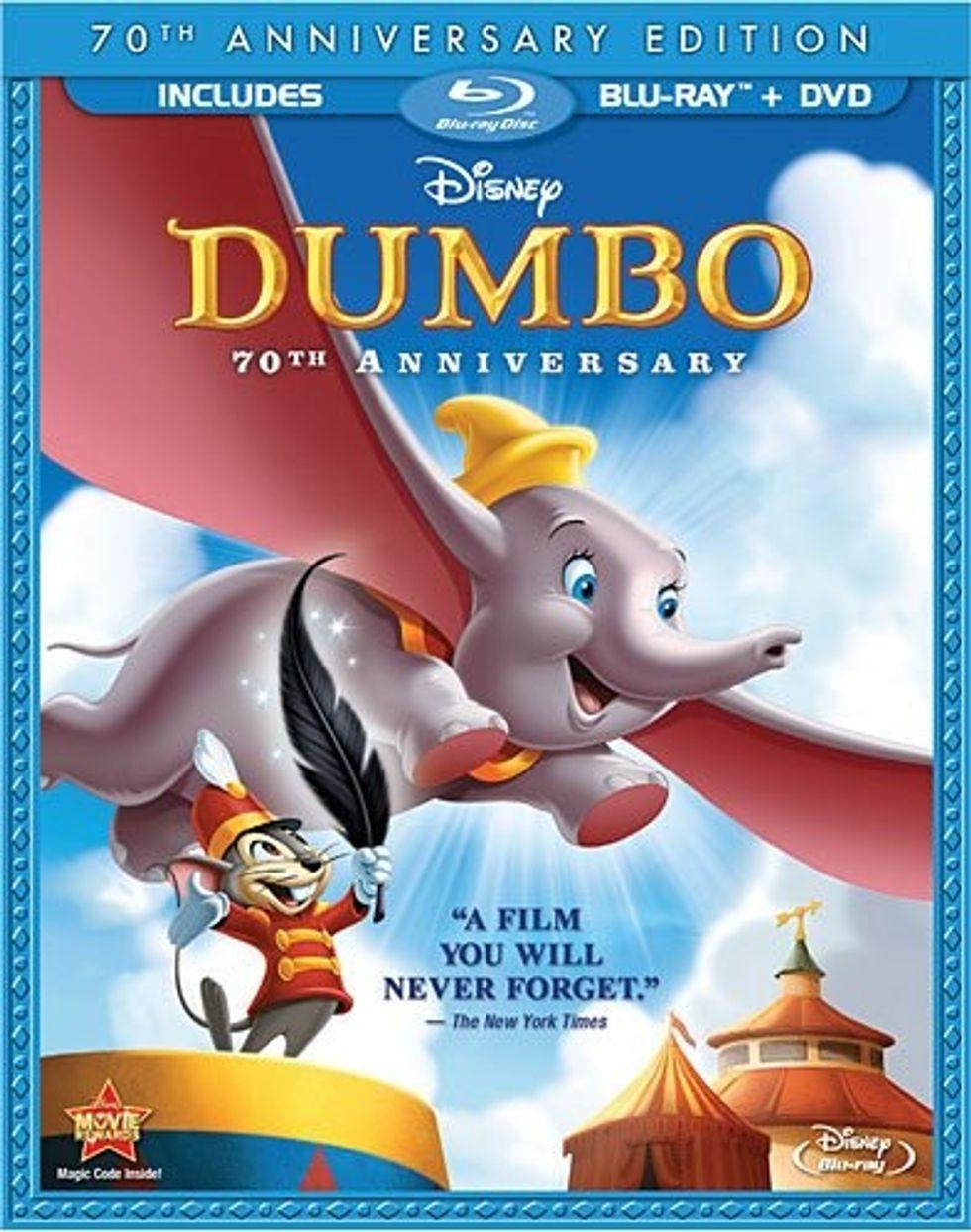 Disney's Dumbo + The Lion King On Blu-ray