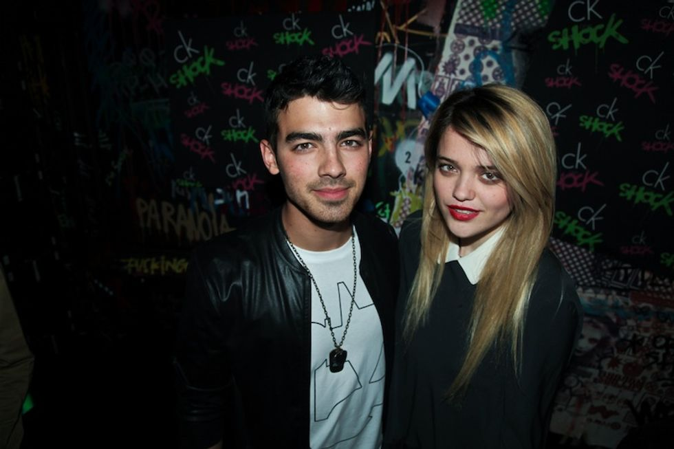 Chatting with Joe Jonas, Sky Ferreira and Leigh Lezark at the CKOne Shock Party