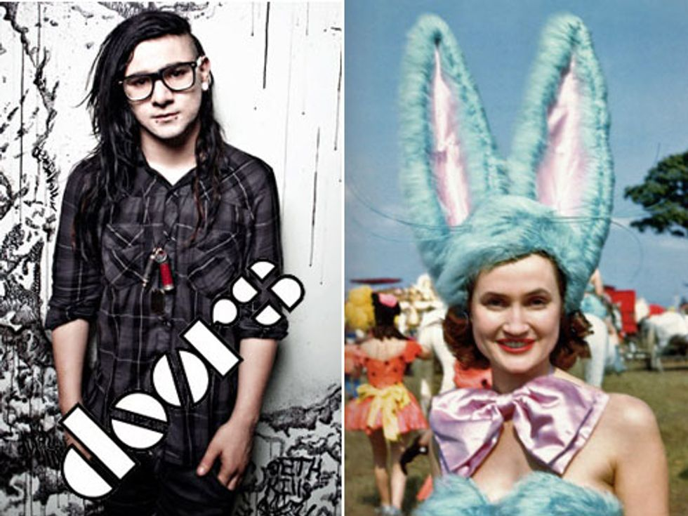Skrillex X The Doors + Neat Old Circus Photos in Today's Eight Items or Less