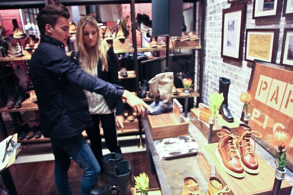 PAPER + The Frye Company Celebrate the Frye Flagship Store Opening in SoHo