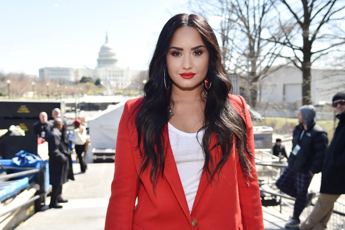Demi Lovato Criticized for Making Music About the Capitol Riots