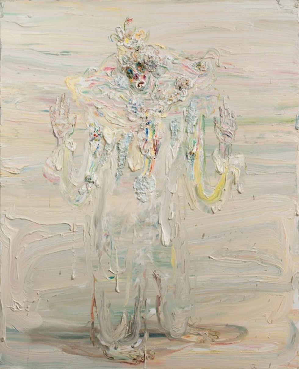 """Allison Schulnik's """"Mound"""" at ZieherSmith Gallery: A Sneak Peek"""