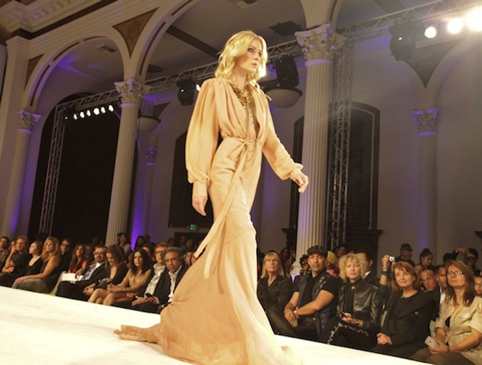 CoCo Johnsen, Playboy-Centerfold-Turned-Designer, Channeled Mahogany-Era Diana Ross at L.A. Fashion Week