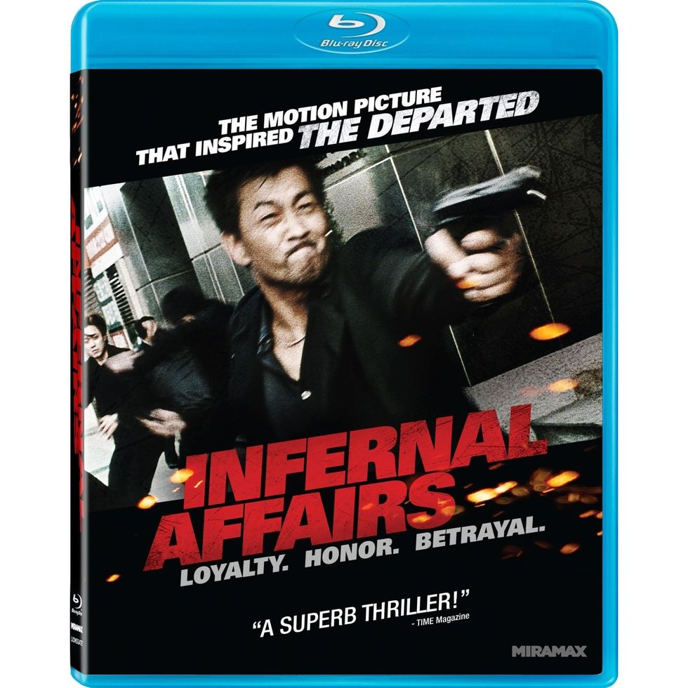 Infernal Affairs, Inspiration For Scorsese's The Departed, On Blu-ray
