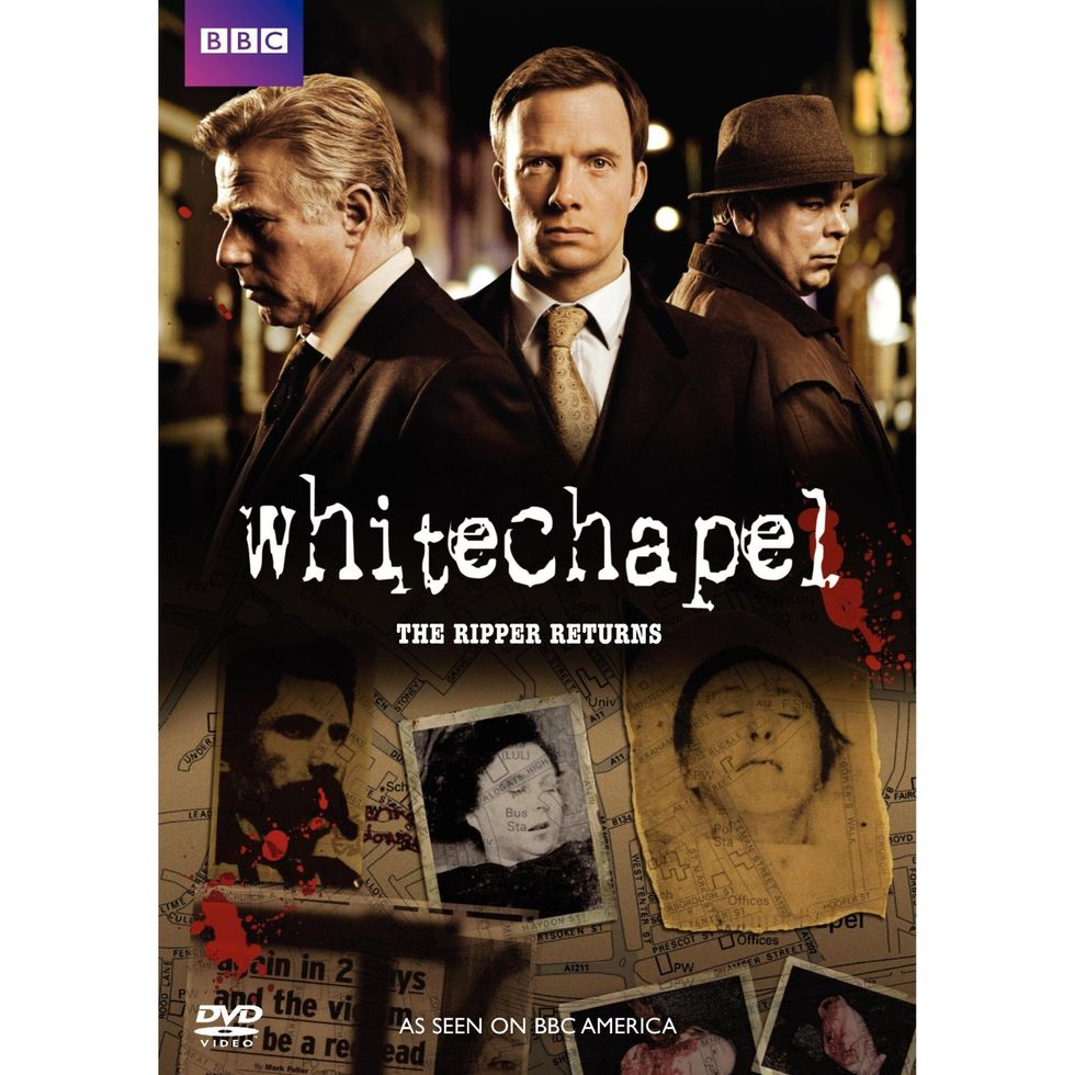 Smart, Suspenseful BBC Mystery Whitechapel: The Ripper Returns On DVD