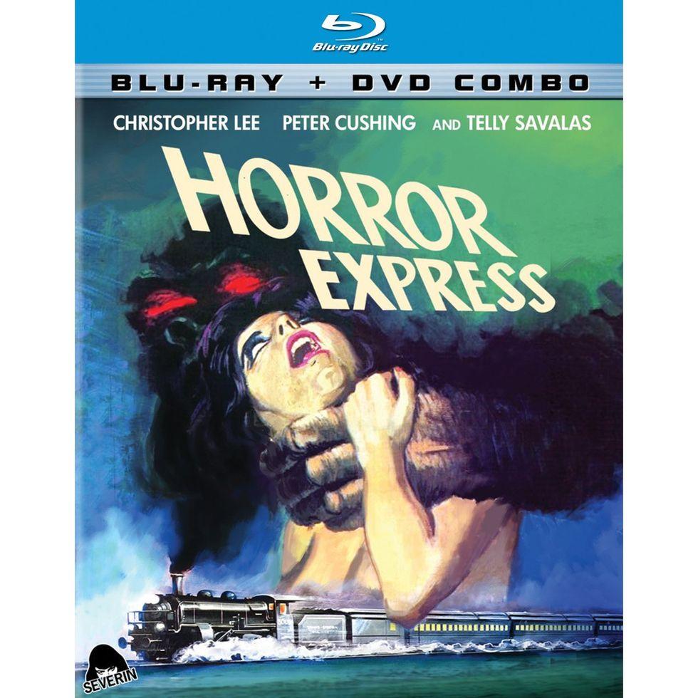 Sci-fi/Horror Classic Horror Express On Blu-ray + DVD