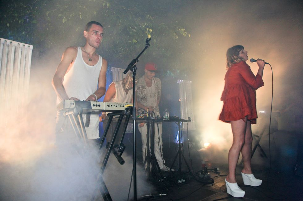 Salem, Strippers and Fog Machines at the Hole's Art Basel Bash (NSFW)