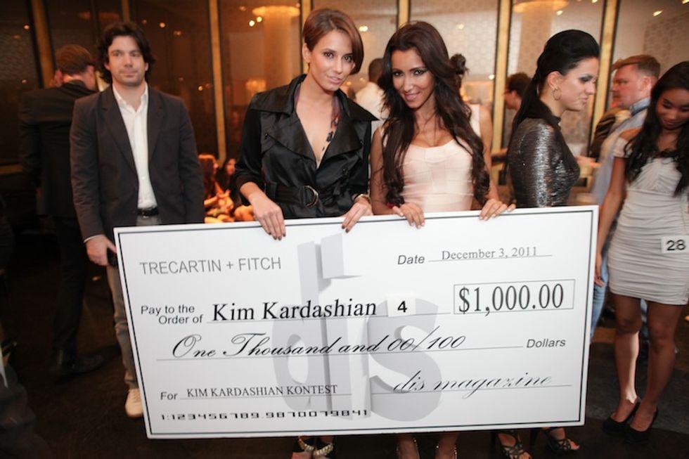 MoMA PS1 + Dis Magazine's Kim Kardashian Look-a-Like Kontest, Complete With a Kris Jenner Upstaging