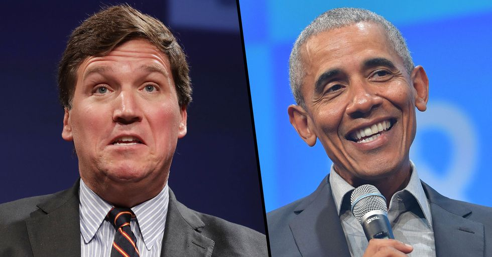 Tucker Carlson Calls Barack Obama 'One Of The Most Sleaziest and Dishonest Figures Ever'
