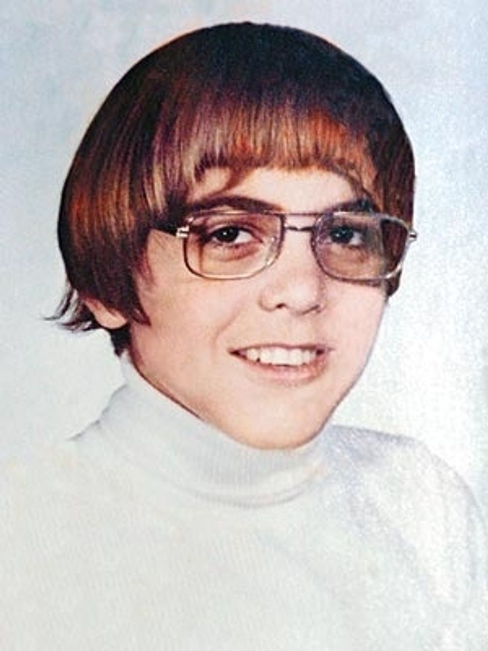 The Morning Funnies: George Clooney's Awkward Yearbook Photo + Pugs Dressed as Yoda