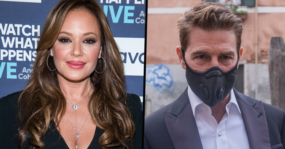 Ex-Scientologist Leah Remini Says Tom Cruise's 'Psychotic' COVID Rant Was a Publicity Stunt