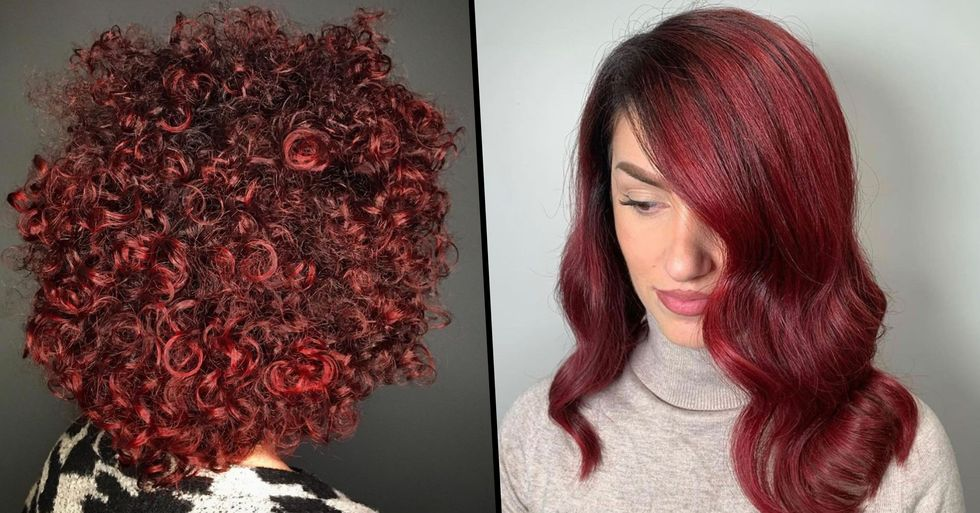 Mulled Wine Hair Is Latest Festive Trend and It's Not To Late To Give It a Try