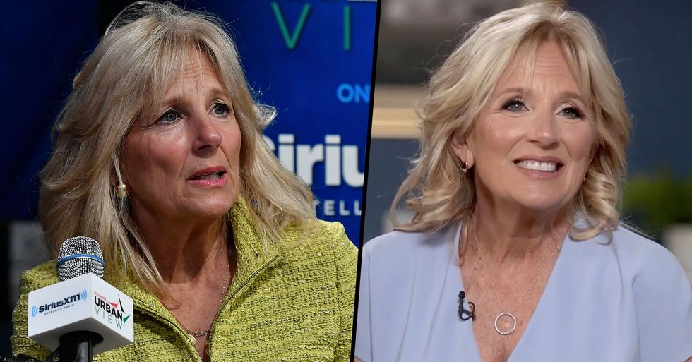 Dr. Jill Biden Finally Responds After Male Journalist Called for Her To Drop 'Doctor' From Her Name