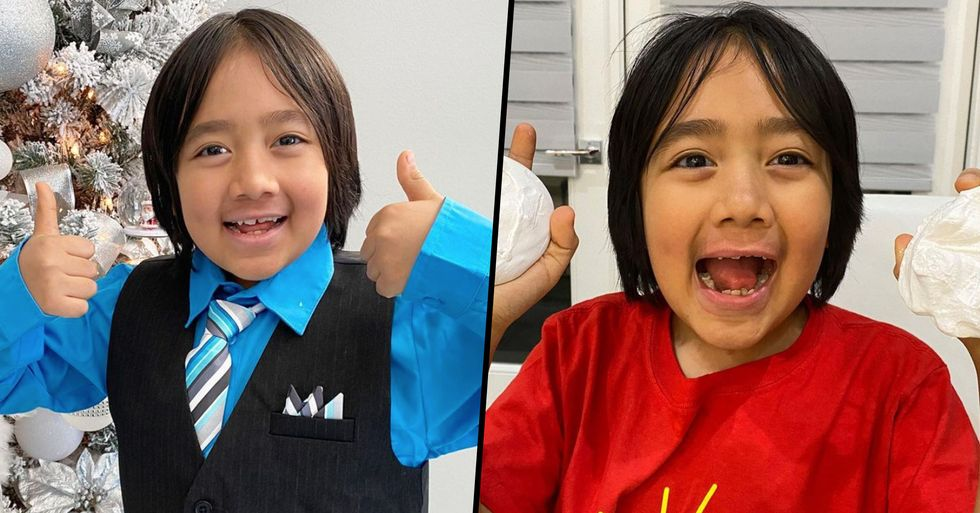 9-Year-Old Becomes This Year's Highest Paid YouTuber