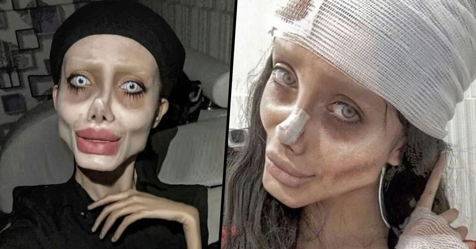 Iranian 'Zombie Angelina Jolie' Has Been Released Days After Ten Year Prison Sentencing