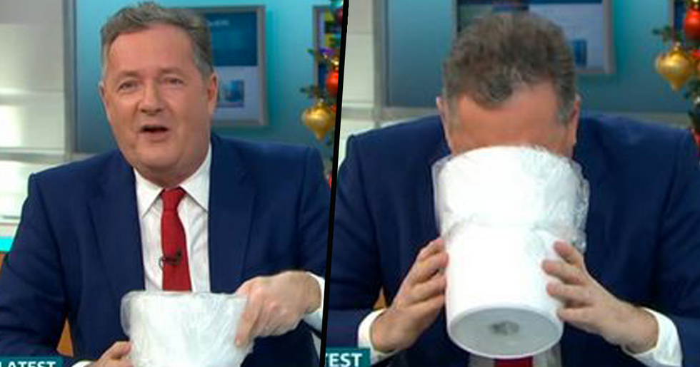 Piers Morgan 'Vomits' Live on TV After Listening To Meghan Markle and Prince Harry's New Podcast