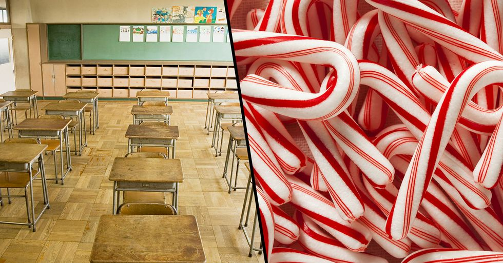 Principal Bans Candy Canes Because 'J' Shape 'Stands for Jesus'