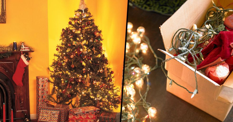 Woman Divides Opinion as She's Already Packed Away Her Christmas Decorations