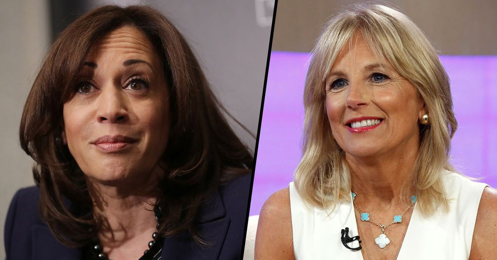 Kamala Harris Defends Jill Biden After Male Journalist Told Her To Drop 'Dr' Title From Her Name