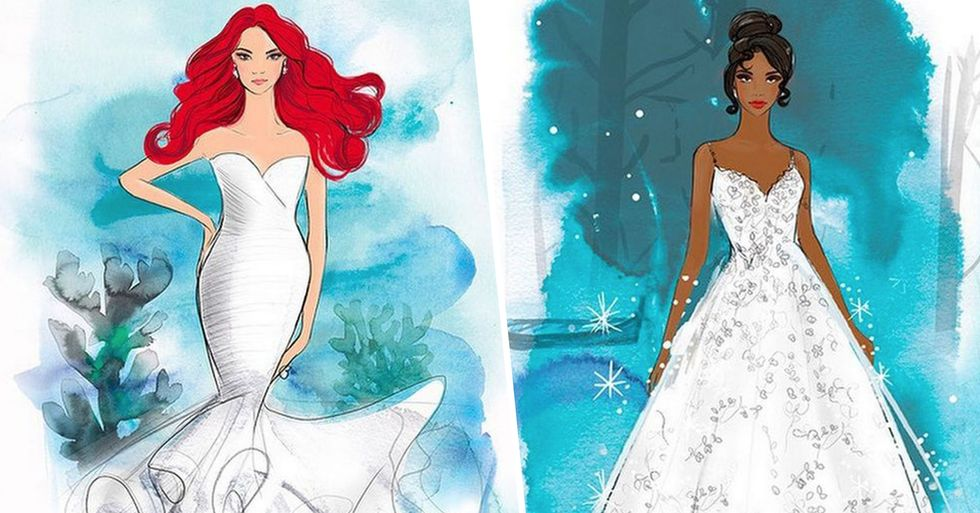 Disney Is Launching a Range of Wedding Dresses for Dreamy Fairytale Weddings