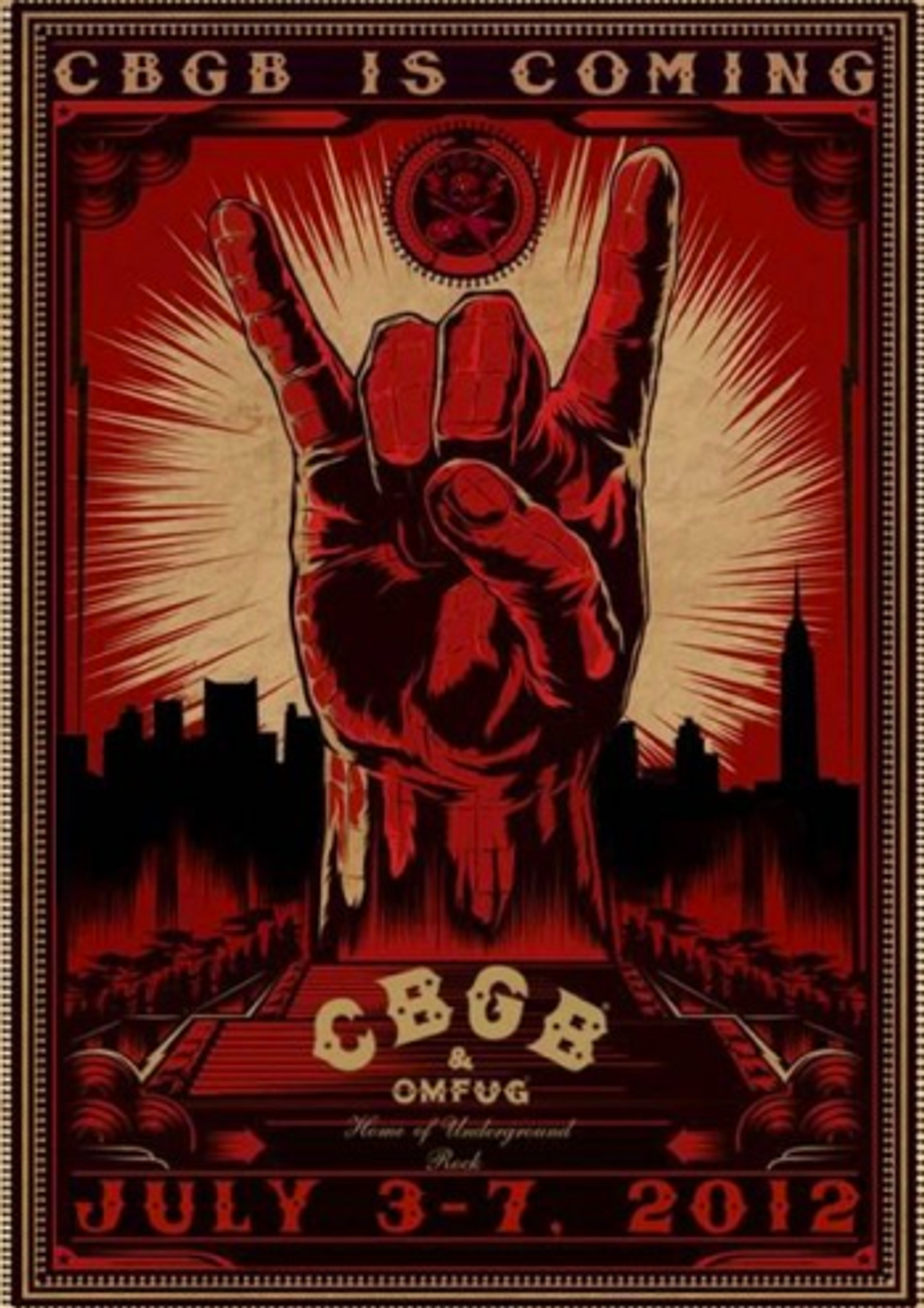 Update: CBGB Music Festival Confirmed, Club Will Possibly Re-Open Downtown