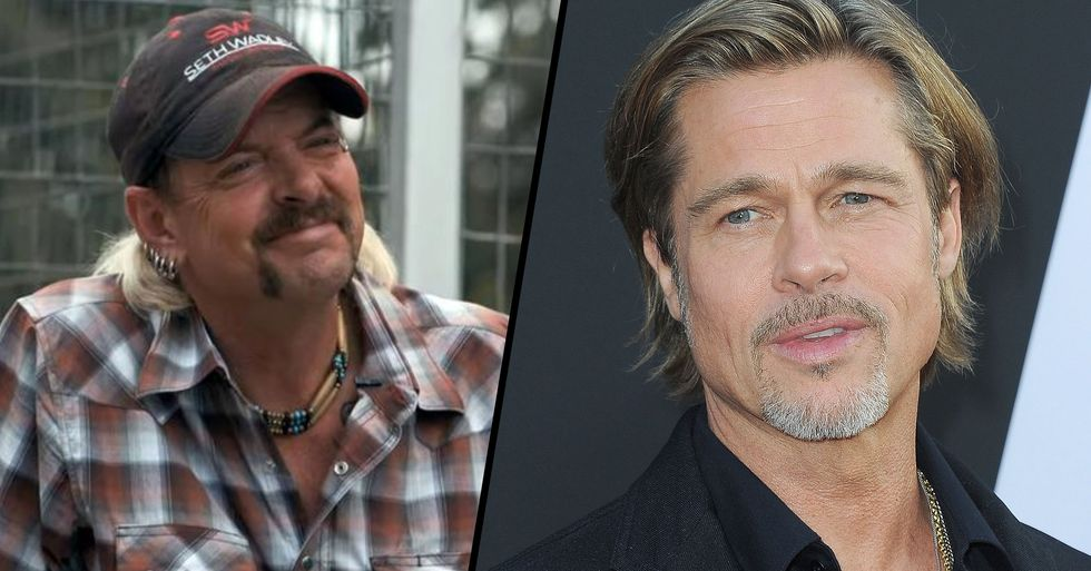 Joe Exotic Says Brad Pitt or David Spade Should Play Him in Movie About His Life