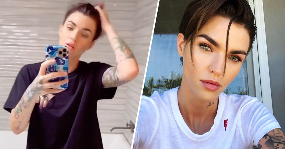 Fans Think Ruby Rose Looks Hotter Than She Ever Has Before as She Debuts New Quarantine Buzzcut