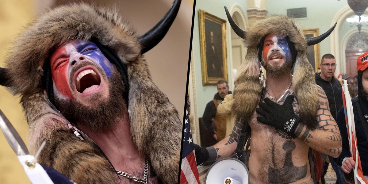 Capitol Rioter Wearing Horned Furry Hat Hasn't Eaten Since Riots As 'Prison Won't Serve All-Organic Food'