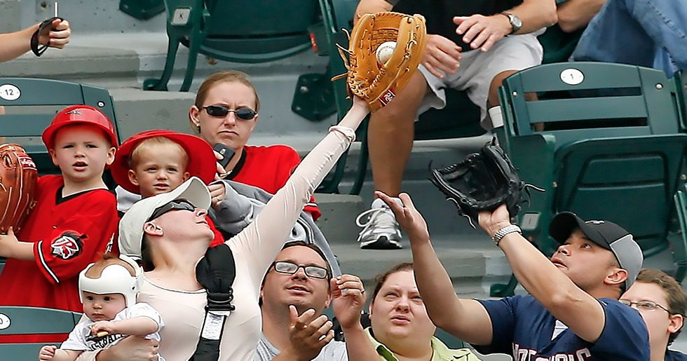 The Most Hilarious Foul Ball Catches of All Time