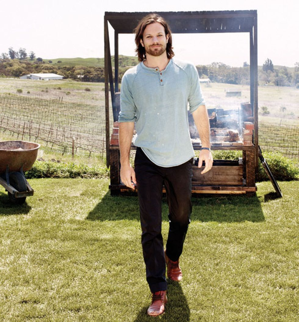 The Food Networks: Scribe Winery