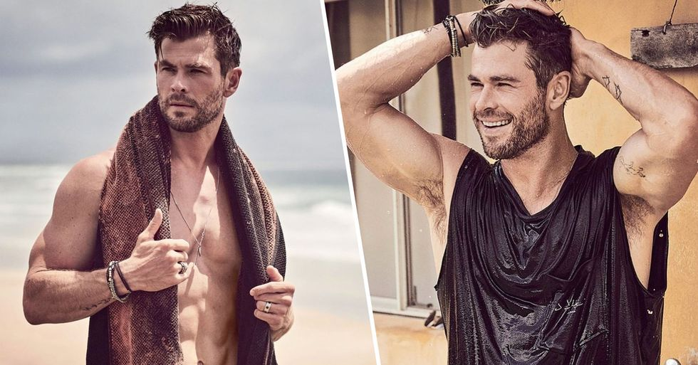 Chris Hemsworth's GQ Photoshoot Is One Big Thirst Trap