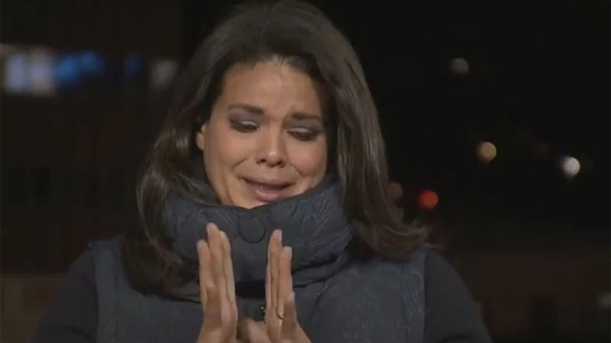 WATCH: CNN correspondent bursts into tears while reporting on COVID death toll in California