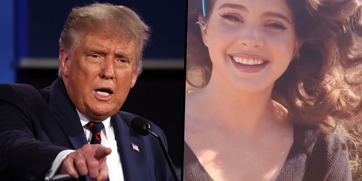 Lana Del Rey Says Trump Didn't Mean To Incite Riot at US Capitol
