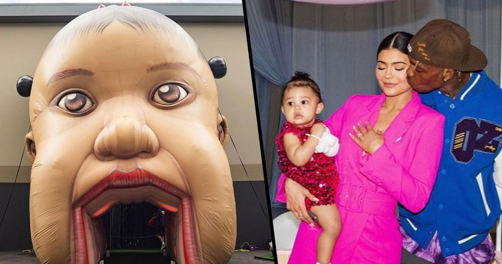 Kylie Jenner Creates Theme Park for Stormi's First Birthday Party