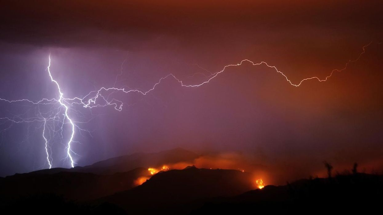 Increase in Lightning Strikes Expected to Ignite More Wildfires