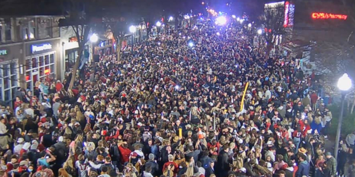 There Was a Huge Party in Tuscaloosa Last Night and Twitter Is Furious