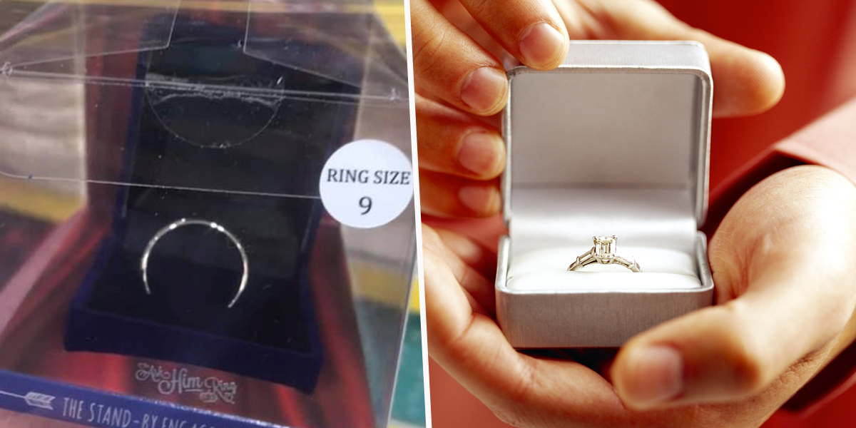 People Divided Over Store Selling Engagement Rings for $1.35
