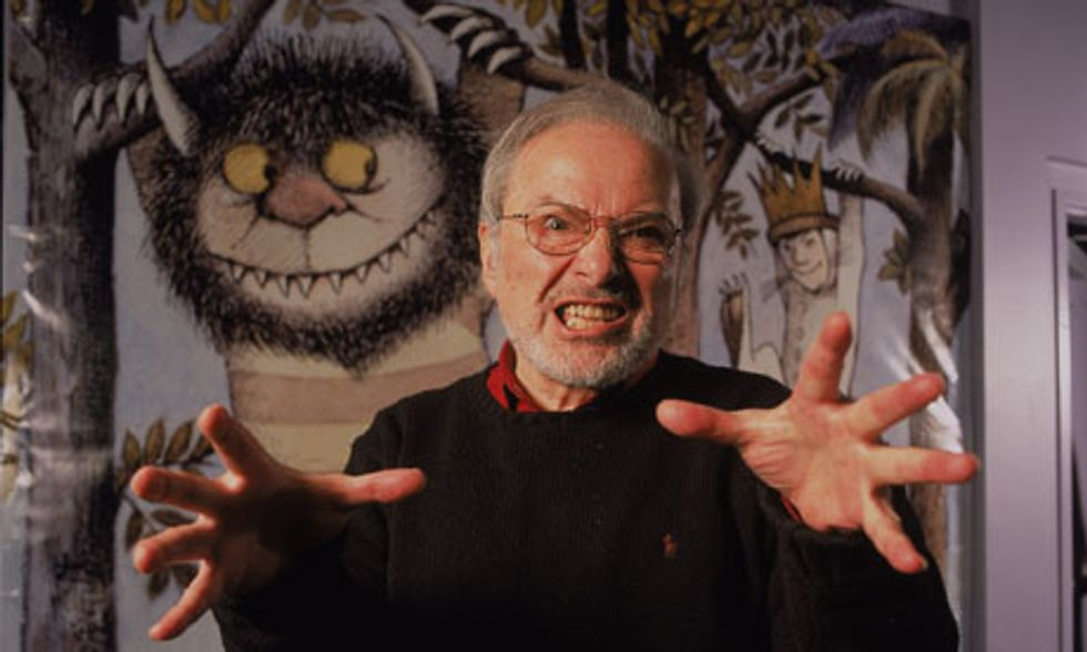 This Unseen Footage of Maurice Sendak on The Colbert Report Is Amazing, Of Course