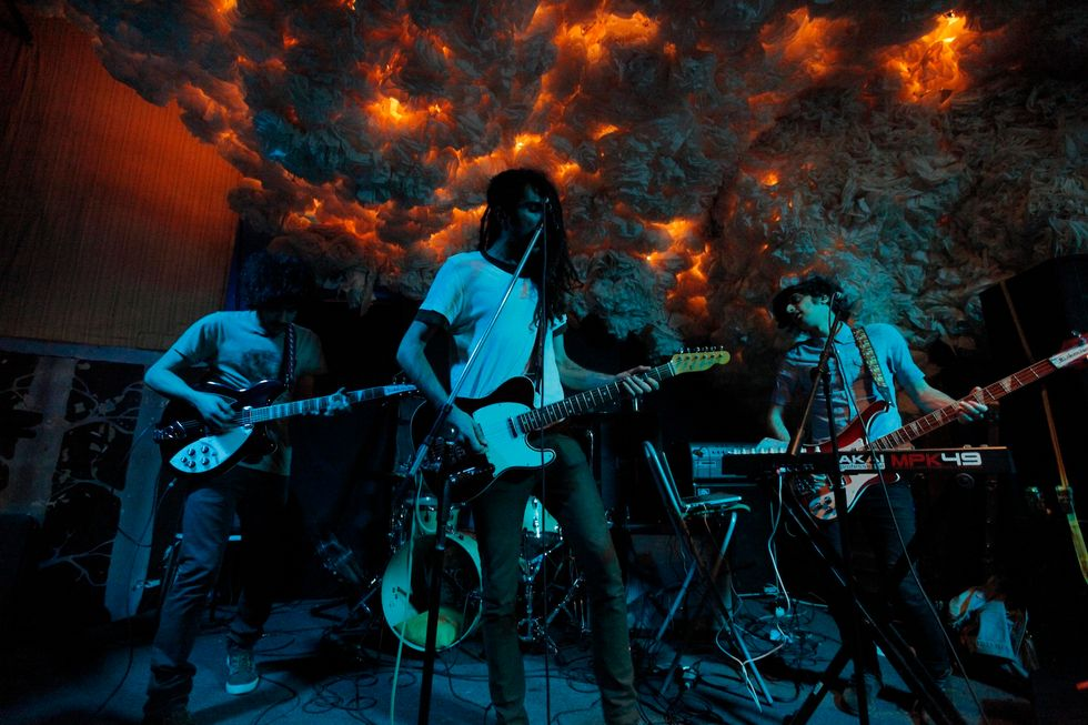 Scenes from Yellowdogs at Glasslands