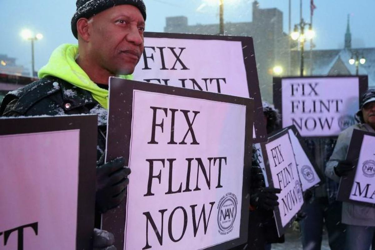 'About damn time': Michigan ex-governor and others face charges over Flint water crisis