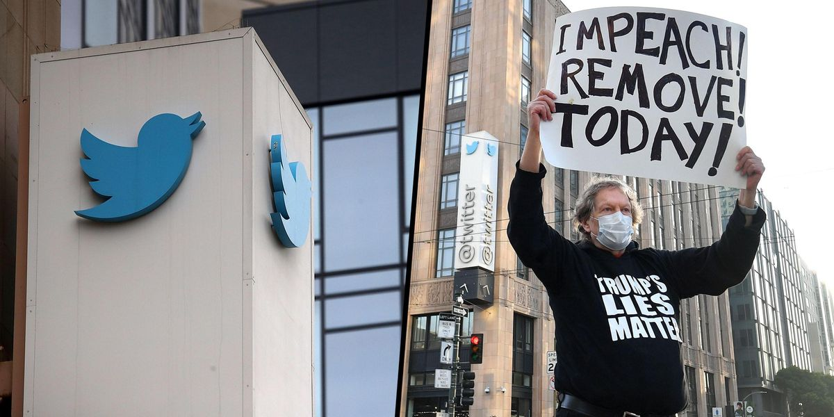 Only One Person Showed Up To Pro-Trump Protest Outside Twitter HQ