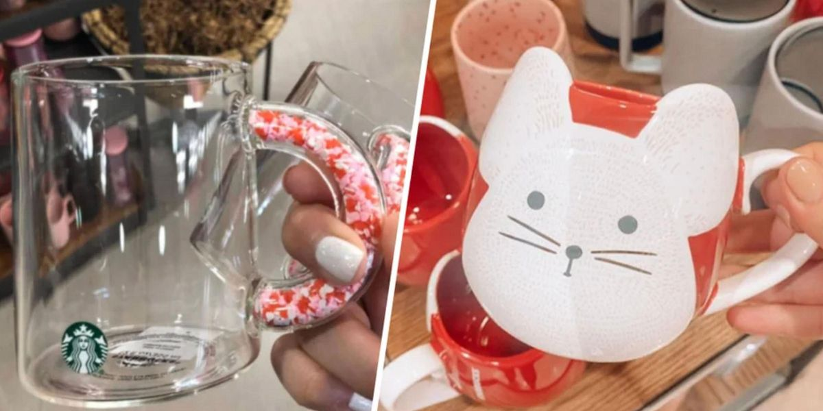 Starbucks Dropped New Valentine's Day Mugs and Tumblers and We Need Them All