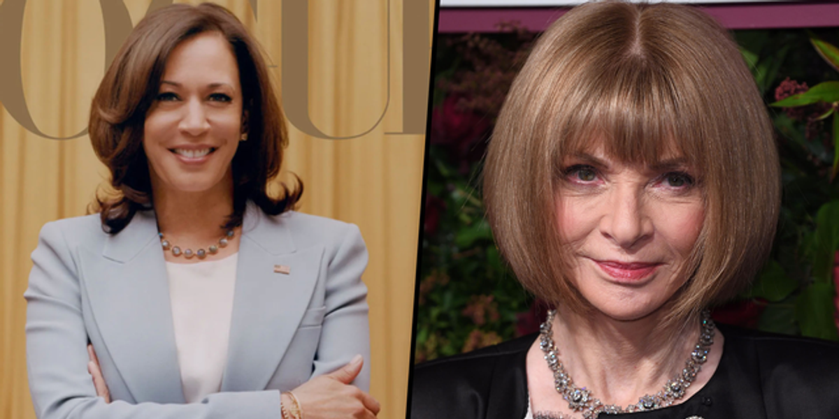 Anna Wintour Defends Kamala Harris' Controversial Vogue Cover
