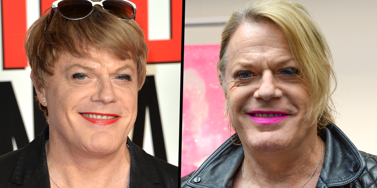 Eddie Izzard Says She's Known She Was Trans Since She Was 4 Years Old
